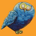 Mr. Blue Owl by Stuart Hogton