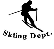 Property Of Skiing Dept by kwg2200