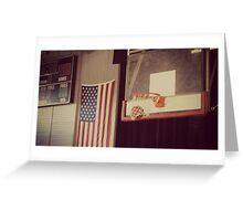 Basketball Gym Greeting Card