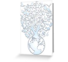 The_Music_Tree Greeting Card