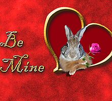 Be Mine Bunny Rabbit by jkartlife