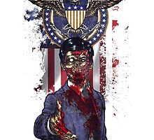 Zombie For President by JoeConde