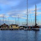 Lavandou international marina in the french Riviera by 7horses