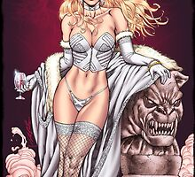 White Queen from X-Men by Al Rio by alrioart