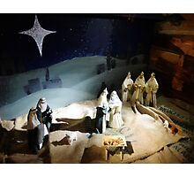 The Nativity Scene  Photographic Print