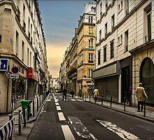 Parisian Streets by Casey Peel