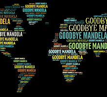 The World Says Good Bye To Mandela by Dee Constantine-Simms