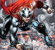 Thor Transporting by Dheeraj Verma by draj