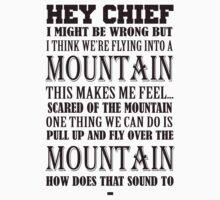 Hey Chief - Cabin Pressure T-Shirt