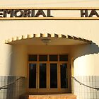 Art Deco Memorial Hall, Lockhart by Jane McDougall