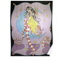 Candy Cane Pixie - Fantasy Art Poster