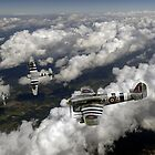 D-Day Hawker Typhoons diving by Gary Eason + Flight Artworks