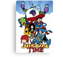 Justice Time Canvas Print