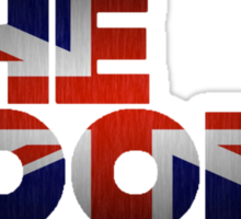 The KOOKS Union Jack Sticker