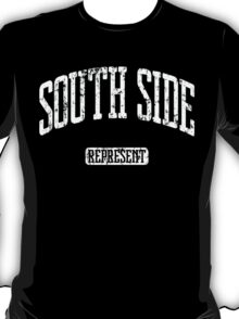 South Side Represent (White Print) T-Shirt