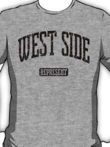 West Side Represent (Black Print) T-Shirt