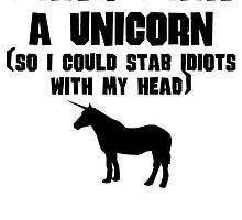 I Wish I Was A Unicorn by kwg2200