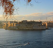 Fort St Angelo by sgrixti