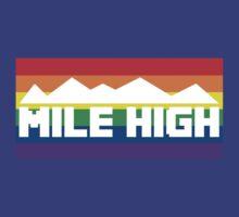 Retro Denver Nuggets (Mile High) by deyw