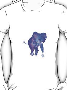 Galaxy elephant T-Shirt
