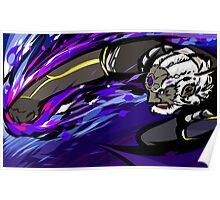 Black Palette Ganondorf | Warlock Punch Poster