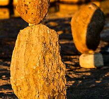 Stone sculpture-9 by MichaelBachman