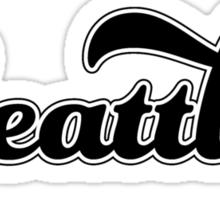 Ol' School Seattle Sticker