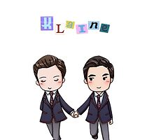 Klaine Phone Case  by gleeknation