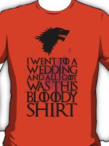 I Went To A Wedding T-Shirt