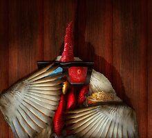 Animal - Chicken - Movie Night  by Mike  Savad