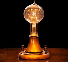 Steampunk - Electricity - Bright ideas  by Mike  Savad