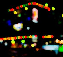 blinking lights - new year celebration at Thailand by vishwadeep  anshu