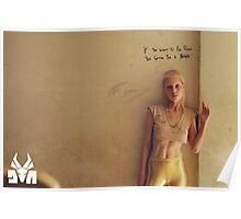 """Die Antwoord poster """"IF U WANNA B RICH"""" Poster"""