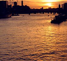 London Sunset by IndyaConnley