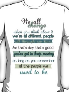 the doctor quote T-Shirt