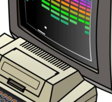 Atari 400 Setup Sticker