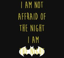 Batman affraid night dark by remohd