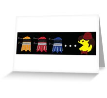 Doctor Pacman Greeting Card