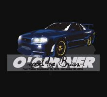 Brian O'Conner COLLECTION CARS #6 by M&J Fashion Graphic