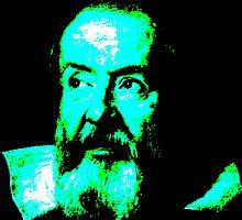 Galileo Galilei by Mariaan Maritz Krog Photos & Digital Art