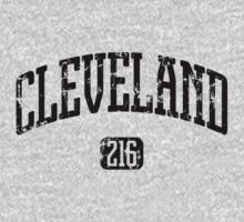 Cleveland 216 (Black Print) by smashtransit