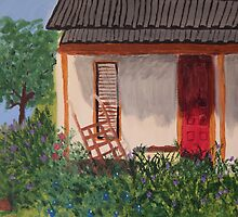 The German Cottage  by Terri Holland
