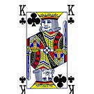 Smartphone Case - King of Clubs by Mark Podger