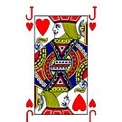 Smartphone Case - Jack of Hearts by Mark Podger