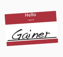 Hello I Am A: Gainer T-SHIRT by matt lloyd