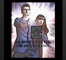 an apple a day keeps the doctor (who) away version 1 by LokiLaufeysen