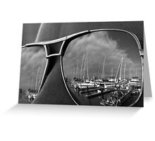 SFBay Reflection  Greeting Card