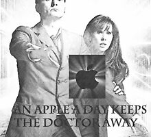 an apple a day keeps the doctor (who) away version 5 by LokiLaufeysen