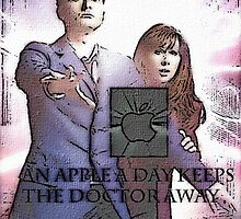 an apple a day keeps the doctor (who) away version 8 by LokiLaufeysen