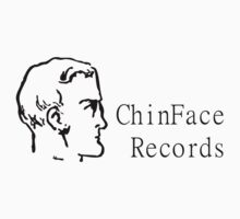 ChinFace Records (black) by chinfacedesigns